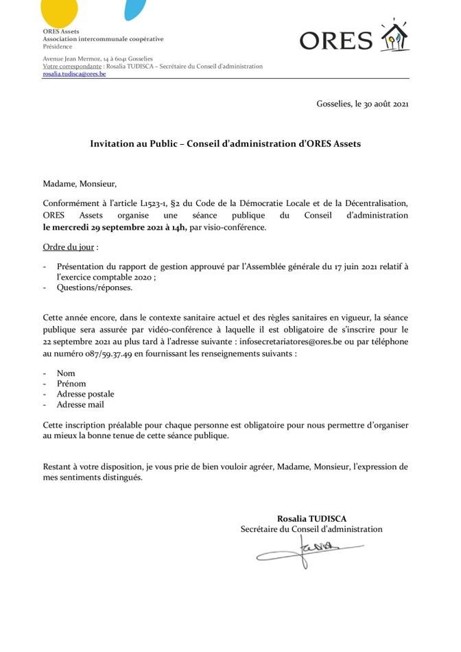 2021.09.29 ORES Assets   CA Public   Invitation (1)